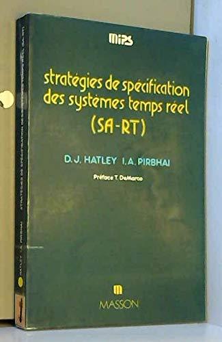 Stratégie de spécification des systèmes temps réel, SA-RT