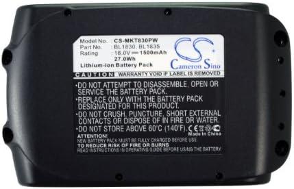 Cameron Sino 1500 mAh 27Wh batteria di ricambio per Makita Makita Makita LXDG01 | Alta qualità ed economico  | Funzionalità eccellenti  | Prezzo ottimale  a926cb