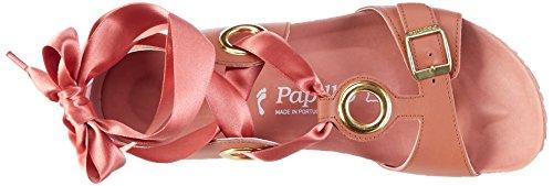 Papillio Damen Emmy Leder Römersandalen Pink (Rose)