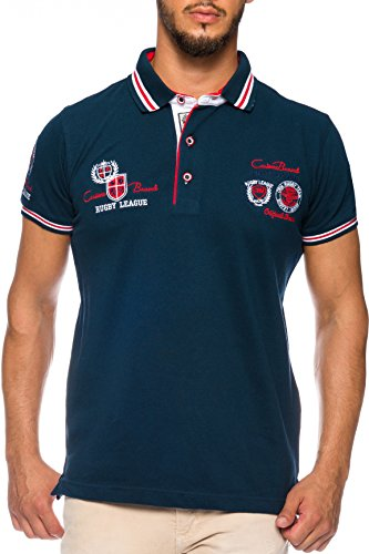 CARISMA Herren Polo-Shirt mit Stickerei