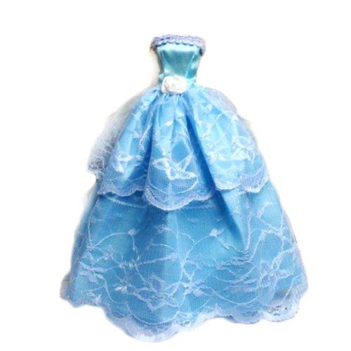 5 Vestito Abito 12 Paia Scarpe per Bambole Barbie Fantasia