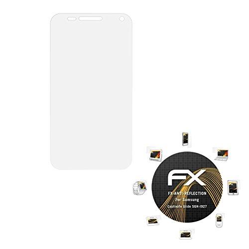 Samsung Captivate Glide (SGH-I927) Displayschutzfolie - 3 x atFoliX FX-Antireflex blendfreie Folie Schutzfolie