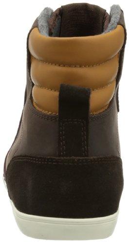 hummel  HUMMEL SLIMMER STADIL OILED HG,  Sneaker a collo alto unisex adulto Marrone (Braun (CHESTNUT 8309))