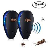 Ultrasonic Pest Repeller –Pest Repeller Plug in 2 Pack Pest Control Ultrasonic Insect