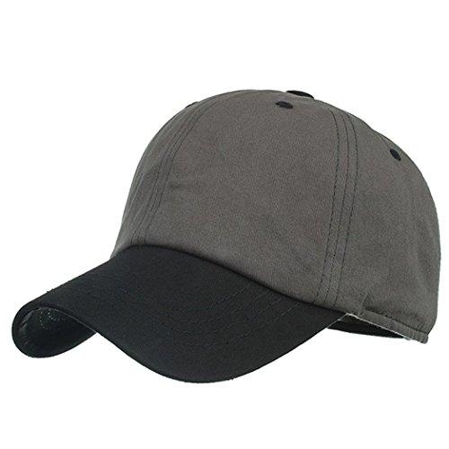 Gorra De BéIsbol ZARLLE Moda Colorblock Baseball Cap Hat Gorra Ajustable  Sombrero Gorra De AlgodóN Viseras 62d9680f9d7