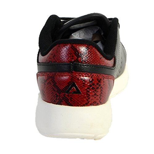 Basket Asfvlt Super Tennis Noir / Rouge Noir