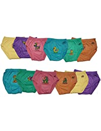 LUXCY Baby Girls' Panties - Pack of 12