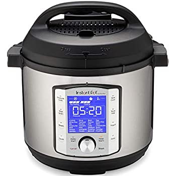 Instant Pot Duo Evo Plus 10-in-1, 5.7L Electric Pressure Cooker, Sterilizer, Slow Cooker, Rice Cooker, Grain Maker, Steamer, Sauté, Yogurt Maker, Sous Vide, Bake, and Warmer 220V