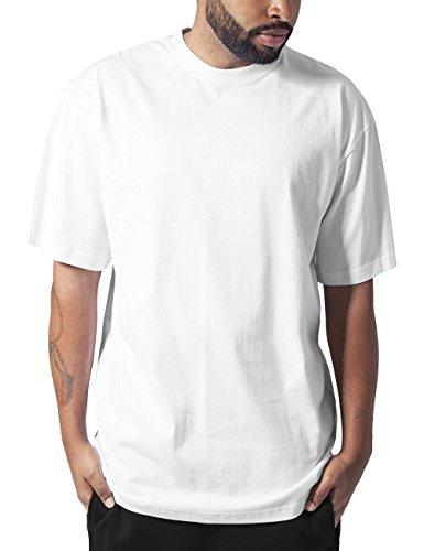 Urban Classics Tall Tee, T-Shirt Uomo, Weiß (White 220), Large
