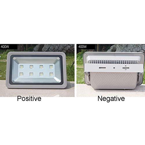 DBSCD LED-Flutlicht, Projektionslicht Superhelle Arbeitsscheinwerfer für den Außenbereich, Halogenlampen gleichwertig, IP66-wasserdichte Außenleuchten, 5500K-6000K, 400W