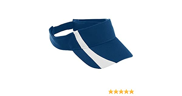 Augusta Sportswear Adult Adjustable Wicking Mesh Two-Color Visor 6260