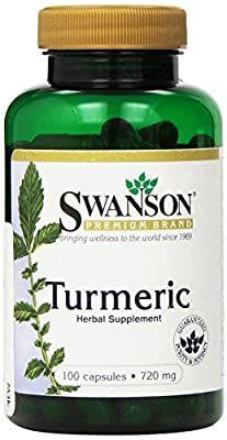 Swanson Turmeric 720mg, 100 Capsules by Swanson Health Products