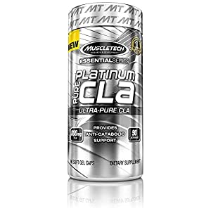41lLZCHpgOL. SS300  - MuscleTech 800 mg Platinum Pure CLA - Pack of 90 Capsules