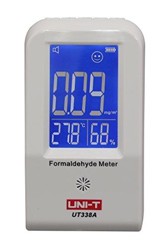 YARBAR UNI-T UT338A Formaldeide Monitor Rilevatore di Umidità di Temperatura