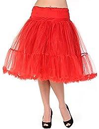 Banned Petticoat SWING TUTU MAXI Red