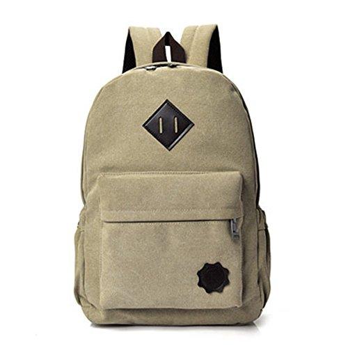 Borsa di tela di studenti' schoolbags leisure travel bag coppie di spalle pacchetto C C