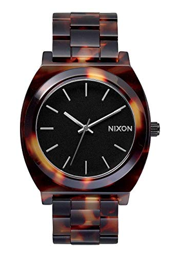 Nixon Women's Quartz Watch Analogue Display and Plastic Strap A327646-00