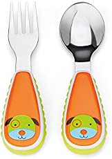 Skip Hop Zoo Utensil Set Dog, Multi Color