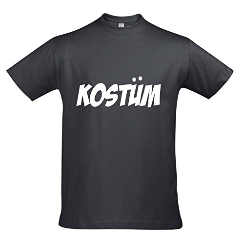 SCHING, KARNEVAL, PARTY SHIRT S-XXL , Mouse grey - weiß , XXL (Grey Mouse Kostüme)