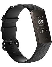 V Enterprises Wristband Strap for Fit Bit Charge 3