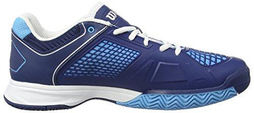 Wilson Rush Ngx Mens Scarpe Da Tennis Multicolore (blu Marittimo Wil / Navy Navy Wil / W)