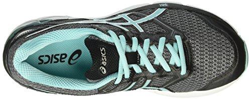 Asics Damen Gel-Phoenix 8 Laufschuhe Grau (Carbon/Aruba Blue/Black)