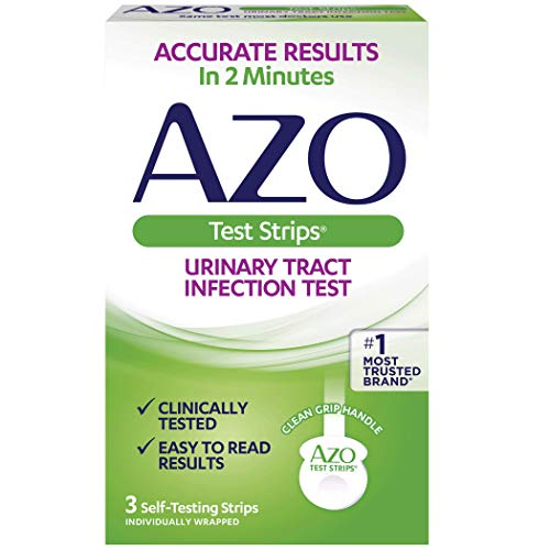 AZO Urinary Tract Infection Test Strips, 3-Count Box