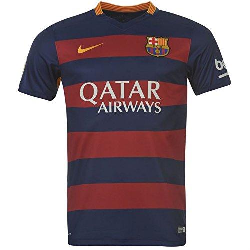 Nike FCB SS Home Stadium Jsy – Camiseta para niño e76ff68da91