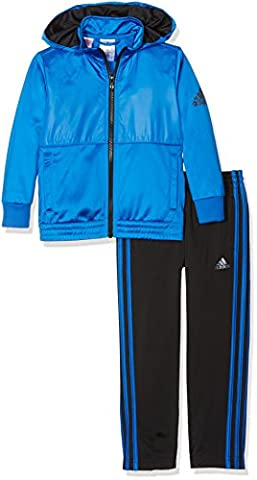 adidas YB TS KN TRN OH - Traininganzug - Junge, Blau, 104