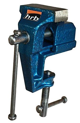 Mini Schraubstock 50 mm Tischschraubstock, Werkbankschraubstock Gusstahl