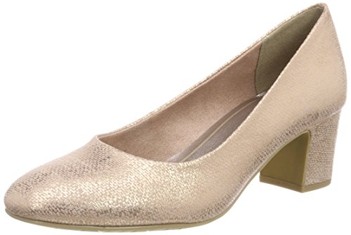 Marco Tozzi Damen 22426 Pumps, Pink (Rose Metallic), 39 EU