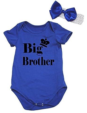 Petitebelle - Body - Bébé (fille) 0 à 24 mois bleu bleu - bleu - L