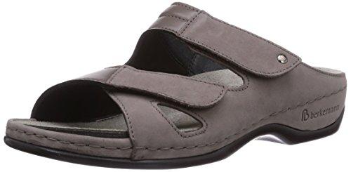 Berkemann Janna, Chaussures de Claquettes femme Gris - Grau (stone/grau 988)
