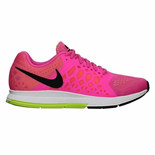 Nike Wmns Air Zoom Pegasus 31, Damen Laufschuhe, Rosa - Rosa (Hyper Pink/Black-Volt) - Größe: 42