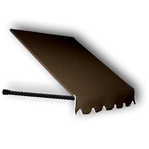 Awntech Geschenkpapierrolle 150cm Santa Fe gedrehtes Seil Arm Fenster/Eintrag Vorzelt, 79cm Höhe von 24Durchmesser - Santa-fenster