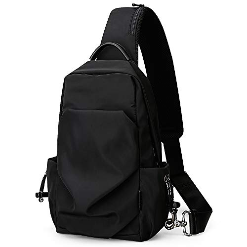 Brusttasche Schultertasche Herren Umhängetasche Sling Bag Rucksack Messenger Bag Hiking Bag Daypack Crossbody Bag Chest Pack für Reisen Wandern Outdoor Sportarten Reisen Adidas Sling