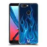 Head Case Designs Blue Blaze Hot Rod Flames Soft Gel Case