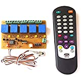 SKE Wireless InfraRed IR 5 Channel Remote Control Relay Home Automation Board Module