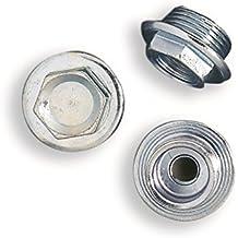 Tapones x Radiador con brida, tapones de hierro galvanizado para radiador de hierro fundido ·