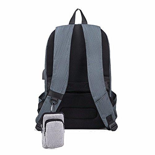 Dark Suite (freizeit - rucksack umhängetasche, junge männer reisetasche, student der computer - tasche mit großer kapazität,dark blue suites)