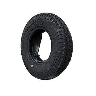 Set Decke Reifen inkl. Schlauch 4.80/4.00-8 KENDA Anhängerreifen DDR-HP Anhänger