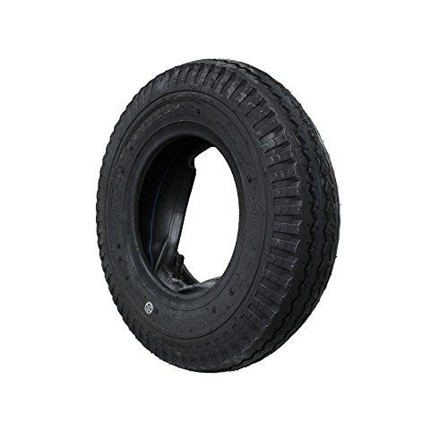 Preisvergleich Produktbild ASR-Rollen SET Decke Reifen + Schlauch 4.80 / 4.00-8 KENDA Anhängerreifen DDR-HP Anhänger