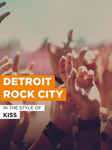 """Detroit Rock City im Stil von """"Kiss"""""""