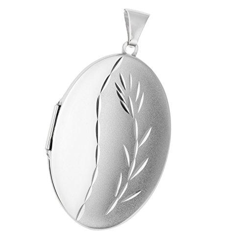 JOBO Hochwertiges Medaillon in ovaler Form