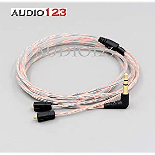 Audio123 UPDRADE Klar Regenbogen-Kabel für Ultimate Ears UE TF10 SF3 SF5 5EB 5Pro