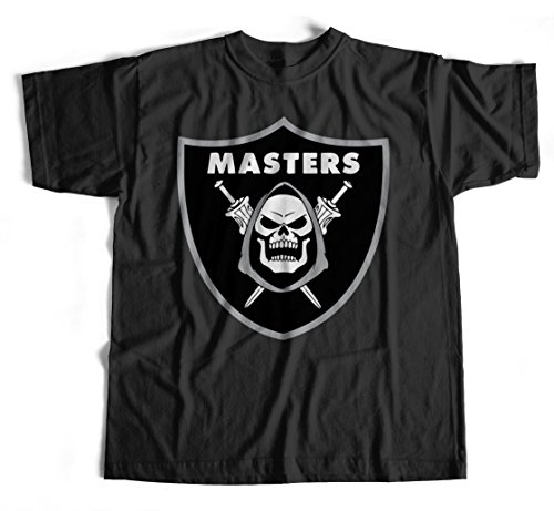 T-Shirt Masters 1 S-4XL He-Man Universe Master Comic 80er Kult Serie Skeletor (Skeletor T-shirt)
