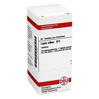 Lapis Albus D 6 Tabletten 80 stk
