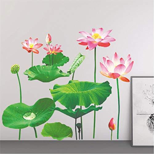 Wandaufkleber Romantische Blume Schmetterling Schwimmt Fußleiste Vinyl wasserdicht selbstklebend Küche Kinder Mädchen Junge Kunst Applique Geschenk - Wasserdicht Schwimmt