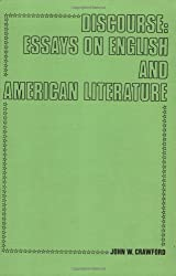 Discourse: Essays on English and American Literature (Costerus New Series)