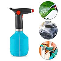 Fully Automatic Handheld Watering Can,1000ML DokFin Battery Operated Sprayer, Rechargeable Spray Bottle with Adjustable Copper Spout for Gardening Fertilizing Cleaning and Multi-Purpose Use